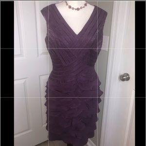 🎀Adrianna Papell party dress size 12. EUC